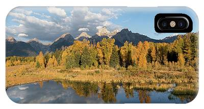 IPhone Case featuring the photograph Teton Glory by Ronnie and Frances Howard