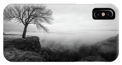 IPhone Case featuring the photograph Thacher Scenic Overlook by Brad Wenskoski