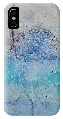IPhone Case featuring the painting The Angels Above Us by Kim Nelson