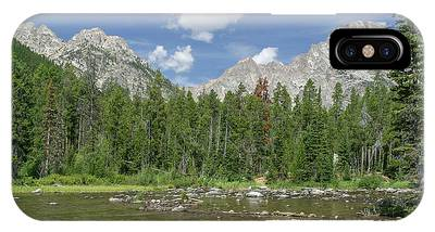 IPhone Case featuring the photograph The Tetons In Summer by Ronnie and Frances Howard