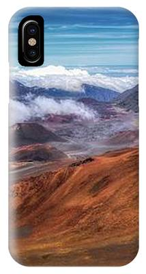 Top Of Haleakala Crater IPhone Case by Andy Konieczny