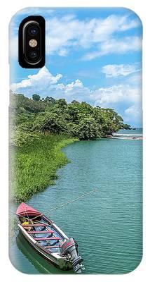 Tour Boat In Jamaica IPhone Case