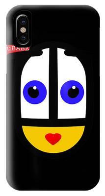 uBABE Black IPhone Case