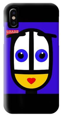 Ubabe Blue IPhone Case