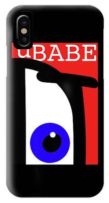 Ubabe French IPhone Case