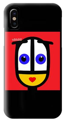 Ubabe Red IPhone Case