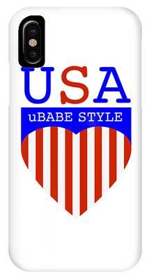 Ubabe Style America IPhone Case
