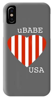 uBABE USA IPhone Case