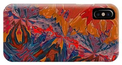 IPhone Case featuring the digital art Van Mam by A zakaria Mami