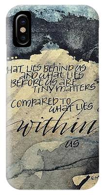 What Lies Within IPhone Case