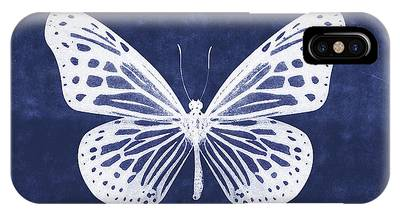 Blue Butterfly Phone Cases
