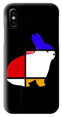 White Rabbit IPhone Case