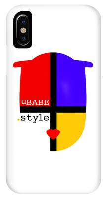 White Style IPhone Case