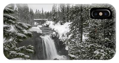 IPhone Case featuring the photograph Winter Heaven by Ronnie and Frances Howard