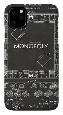 Monopoly Board Game iPhone Cases