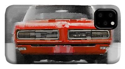 Pontiac GTO iphone case