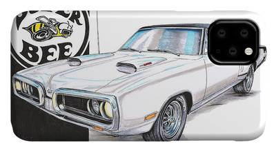 Dodge Super Bee American Muscle Car iphone case