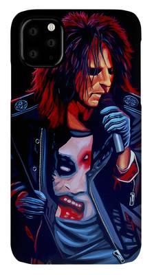 Alice Cooper iPhone Cases