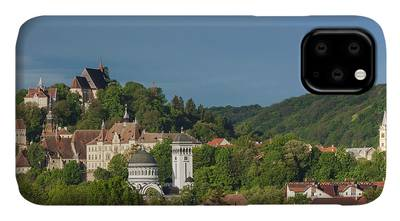 Roofs in Transylvania iphone 11 case