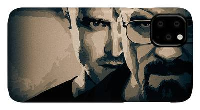 Breaking Bad Painting iphone case