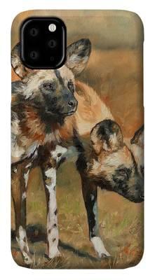 Wild Dogs iPhone Cases