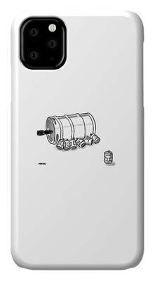 Beer Can Drawings iPhone Cases