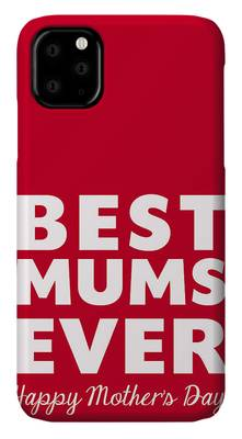 Mother Digital Art iPhone Cases