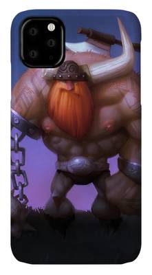 Viking Paintings iPhone Cases