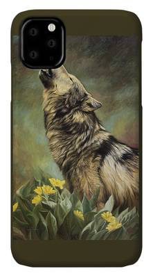 Call Of The Wild Paintings iPhone Cases