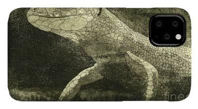 Bearded Dragon - Grunt iPhone 11 case