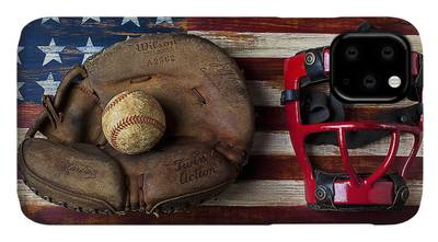 Designs Similar to Catchers Glove On American Flag