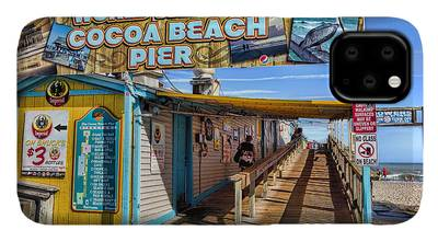Cocoa Beach Pier iPhone Cases