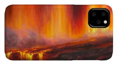 Big Island Of Hawaii Paintings iPhone Cases