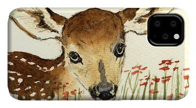 Bambi Paintings iPhone Cases