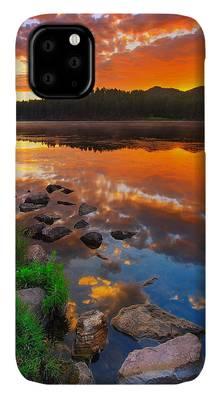 Pond iPhone Cases