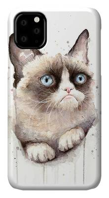 Watercolor Pet Portraits iPhone Cases