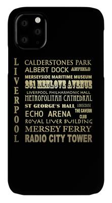 Albert Dock Digital Art iPhone Cases