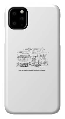 Hudson River Drawings iPhone Cases
