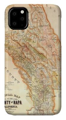 Vintage Map Photographs iPhone Cases