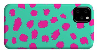 Two Tone Digital Art iPhone Cases