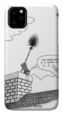 The Chimney Sweep iphone 11 case