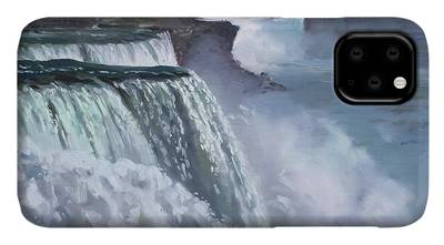 Niagara Falls Paintings iPhone Cases