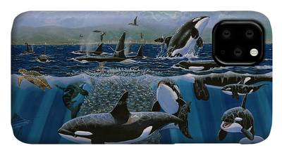 Belly of the Whale iphone 11 case
