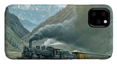 Steam Train iPhone Cases