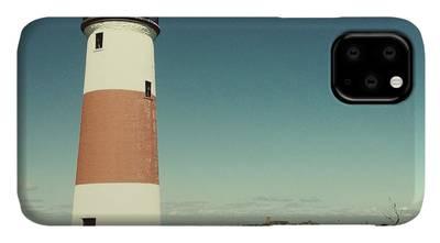 Sankaty Head Lighthouse on the island of Nantucket MA iPhone 11 case