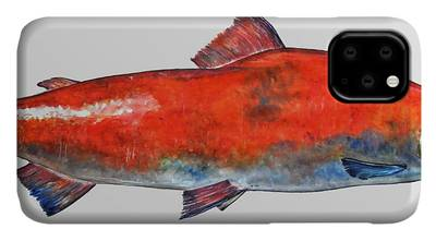 Red Salmon iPhone Cases
