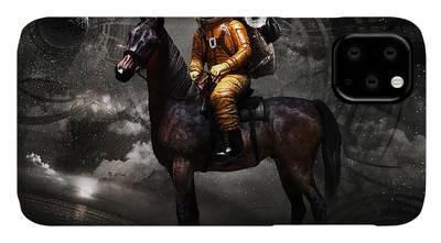 Horse Digital Art iPhone Cases