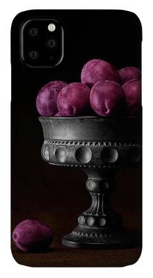 Juicy pomegranate fruits iPhone 11 case