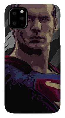 Kal-el Paintings iPhone Cases
