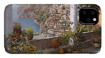 Positano Italy Iphone Cases Fine Art America